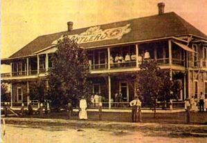 Historical Photo of the Antlers Inn